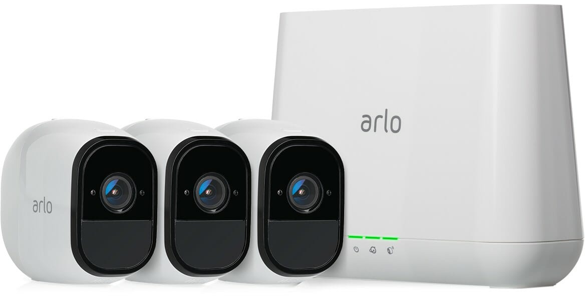 Arlo Pro Wireless Security System Cameras White