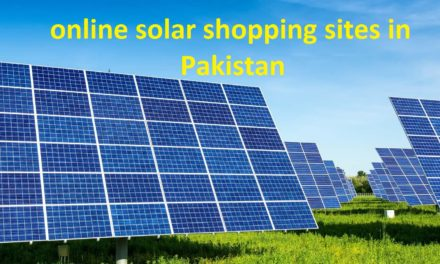 Top online solar shopping sites in Pakistan