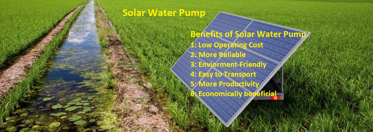 Solar water Pump [Working and Benefits] Complete Guide