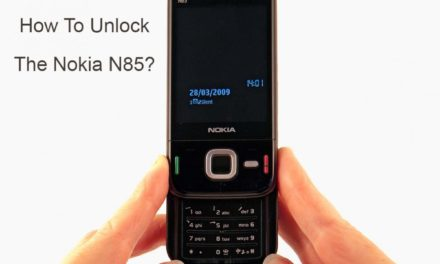 How To Unlock The Nokia N85?