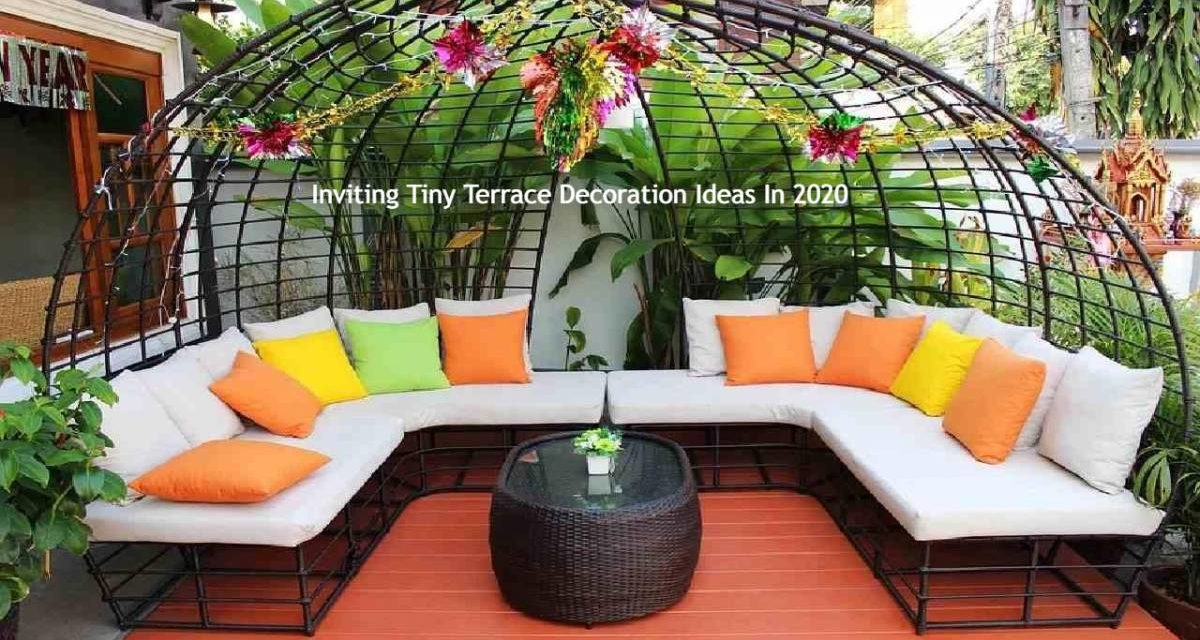 Inviting Tiny Terrace Decoration Ideas In 2020