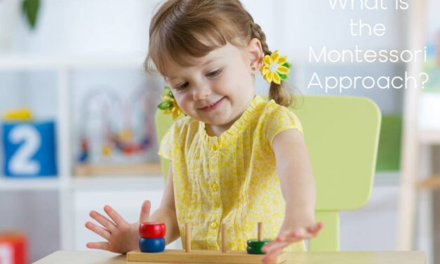 What is the Montessori Approach and How It Help Baby's Brain Develop?