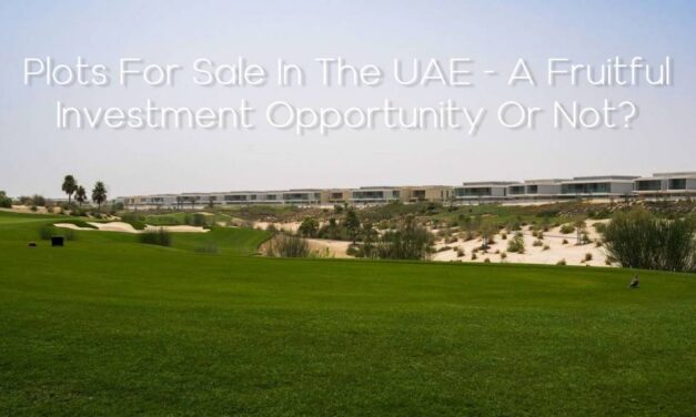 Plots For Sale In The UAE – A Fruitful Investment Opportunity Or Not?